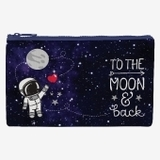 Zipper Pouch Funky Collection - To The Moon
