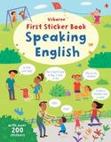 First Sticker Book - Speaking English