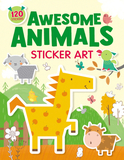 Awesome Animals Sticker Art: 120 Stickers!