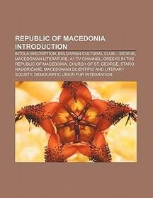 Republic of Macedonia Introduction - Wikipedia